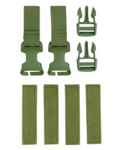 Buckle-tek conversion kit-Olive  Airsoft Kombat UK - The Back Alley Army Store
