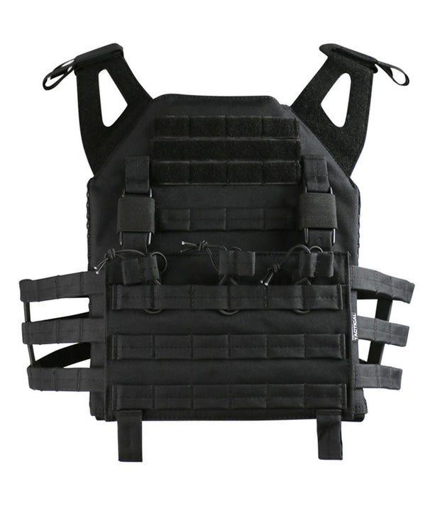 Buckle-Tek JPC BLACK Airsoft Kombat UK - The Back Alley Army Store
