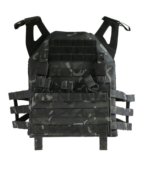 army molle vest BTP Black Airsoft Kombat UK - The Back Alley Army Store