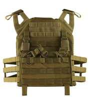 army molle vest Coyote Airsoft Kombat UK - The Back Alley Army Store