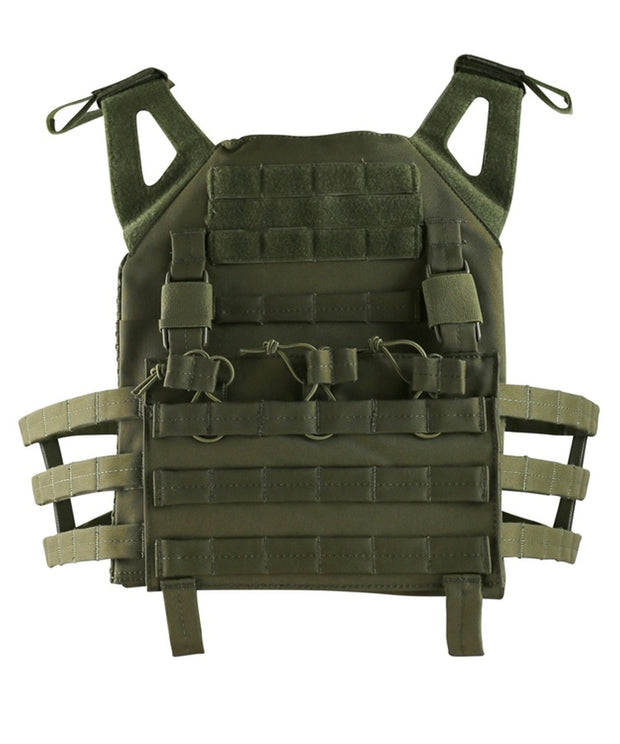 Buckle-Tek JPC OLIVE Airsoft Kombat UK - The Back Alley Army Store