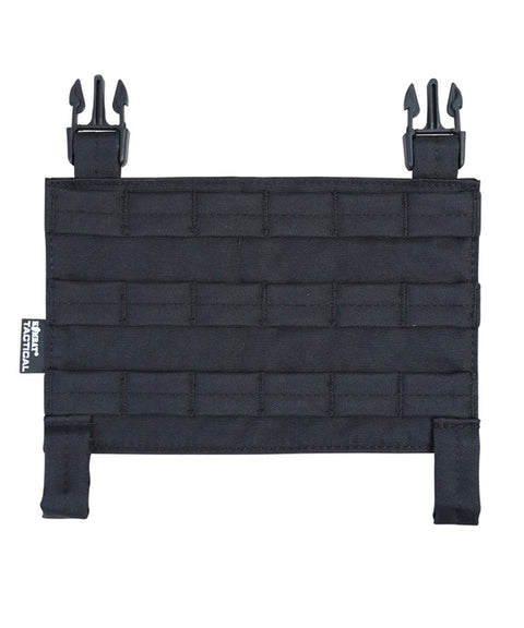 Buckle-tek molle panel BLACK Airsoft Kombat UK - The Back Alley Army Store