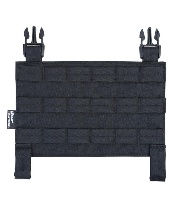 kombat uk buckle tek molle panel black