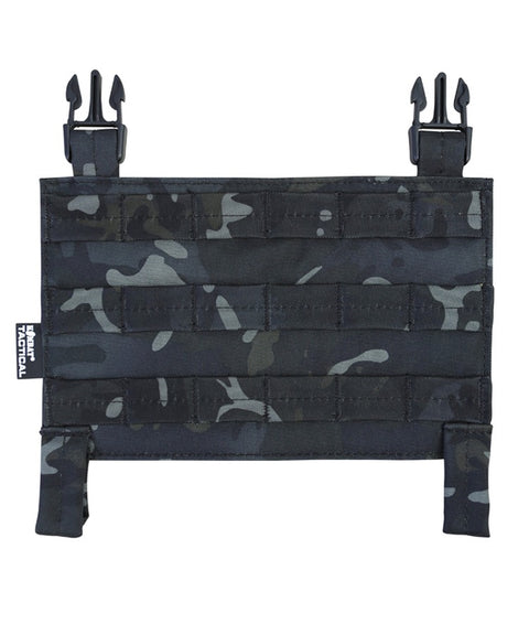 Buckle-tek molle panel BTP BLACK Airsoft Kombat UK - The Back Alley Army Store