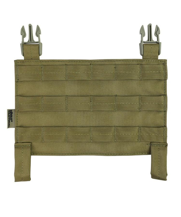 kombat tactical buckle tek molle panel coyote brown tan desert