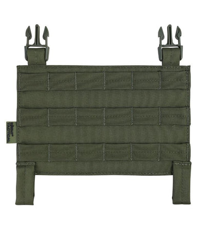 buckle tek molle panel olive green od og