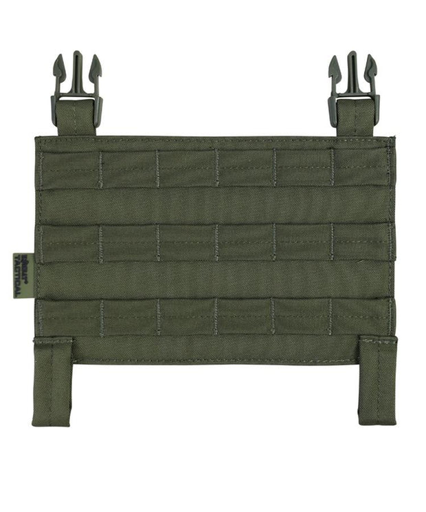 kombat tactical buckle tek molle panel olive green og od