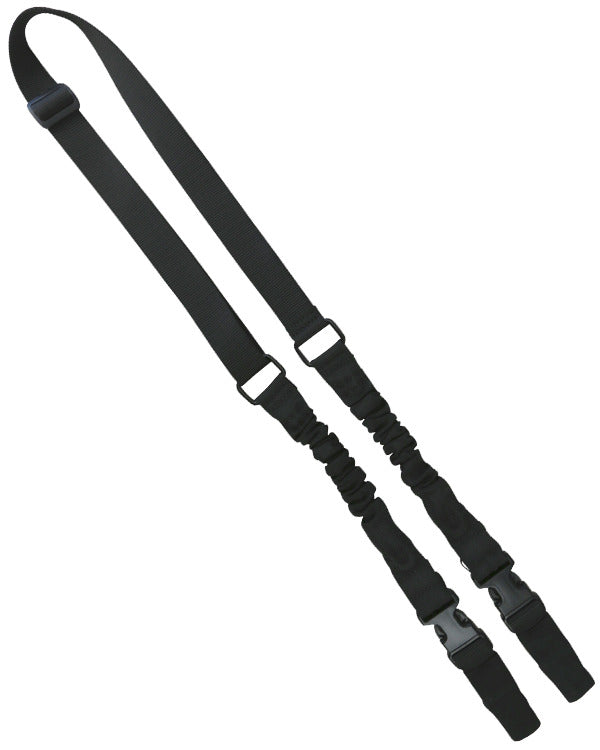 double point bungee rifle sling black