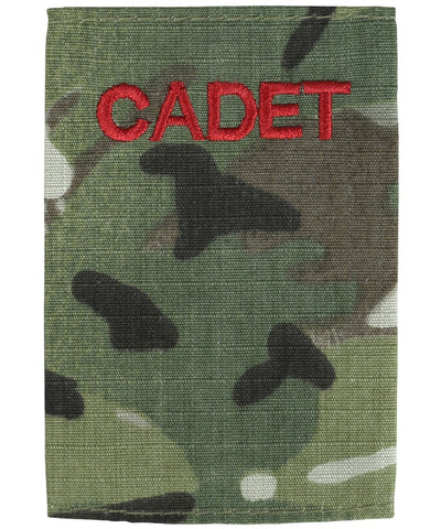 Cadet rank slide-Blank