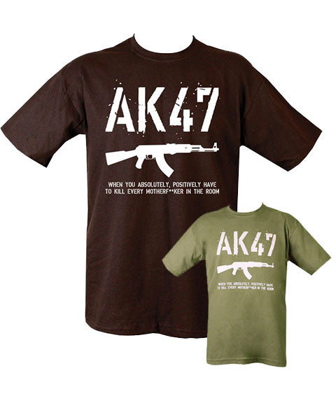 AK47 T-Shirt  Clothing Kombat UK - The Back Alley Army Store