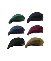 Beret-Black  headwear Kombat UK - The Back Alley Army Store