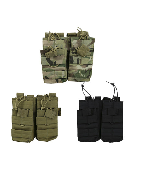 Double duo mag pouch  Airsoft Kombat UK - The Back Alley Army Store