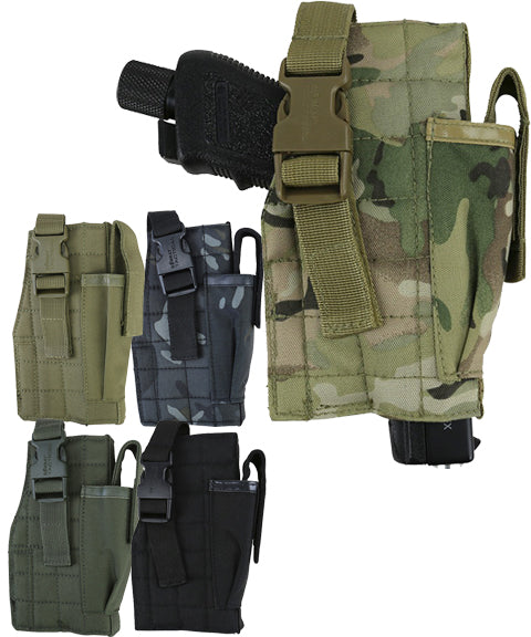 Molle gun holster w/mag pouch  Airsoft Kombat UK - The Back Alley Army Store