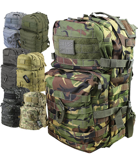Medium Assault Pack 40ltr  Bag Kombat UK - The Back Alley Army Store