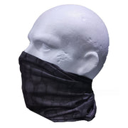 Croc skin black tactical snood