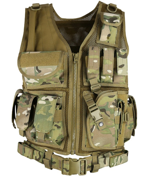 Cross Draw Tactical Vest-BTP BTP Airsoft Kombat UK - The Back Alley Army Store