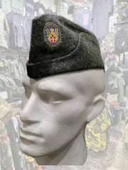 Danish Army wool sidecap  headwear Sourced by Back Alley - The Back Alley Army Store