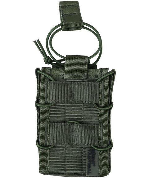 kombat tactical delta fast magazine pouch olive green od