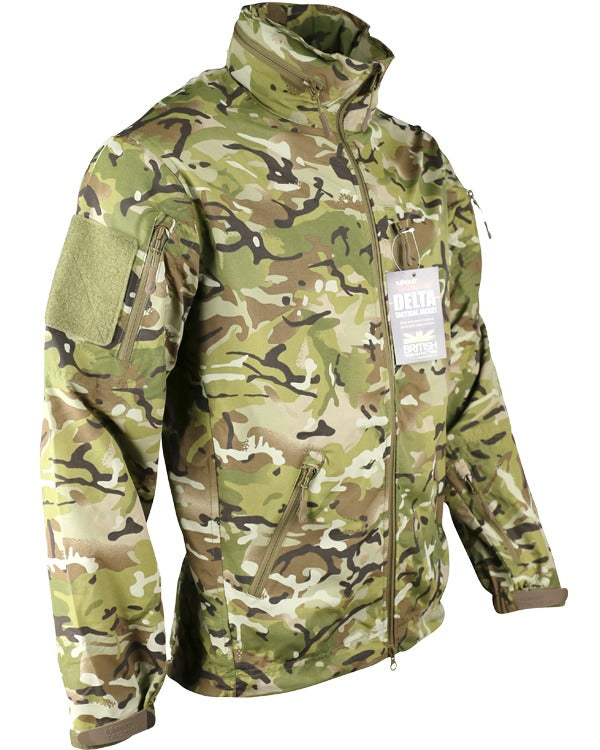 Delta nylon jacket-B.T.P  Clothing Kombat UK - The Back Alley Army Store