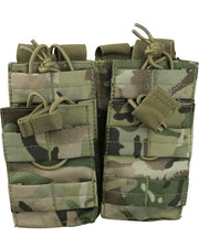 Double duo mag pouch BTP Airsoft Kombat UK - The Back Alley Army Store