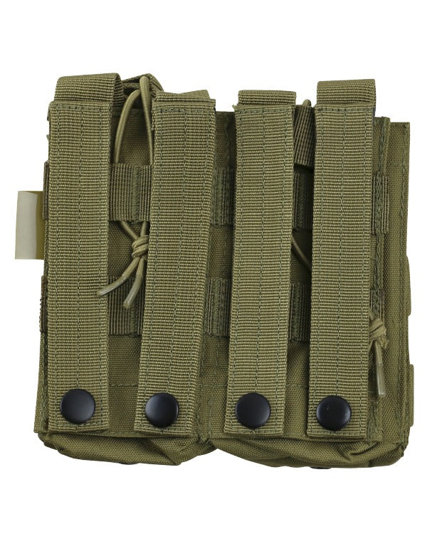 Double duo mag pouch-Coyote airsoft magazine pouch for 4 mags