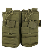 Double duo mag pouch COYOTE Airsoft Kombat UK - The Back Alley Army Store