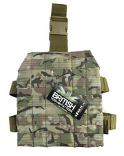 molle drop leg platform for attaching mag pouches