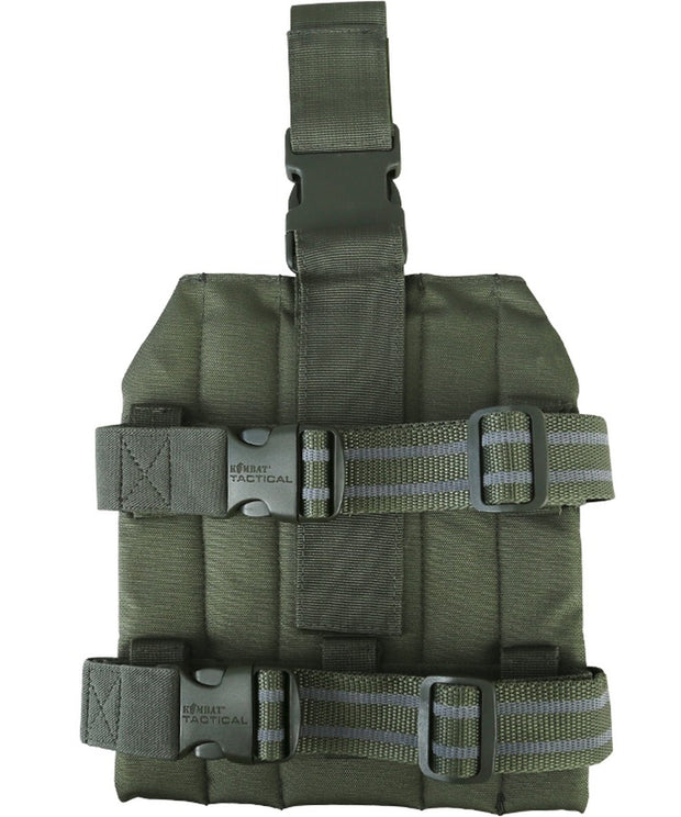 mole drop leg platform for attaching magazine pouches and holsters