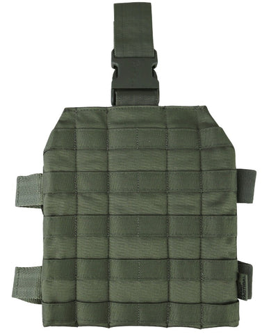 molle drop leg platform for attaching gun magazines holsers