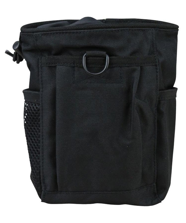 kombat tactical large dump pouch black