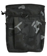 kombat tactical large dump pouch btp black camo