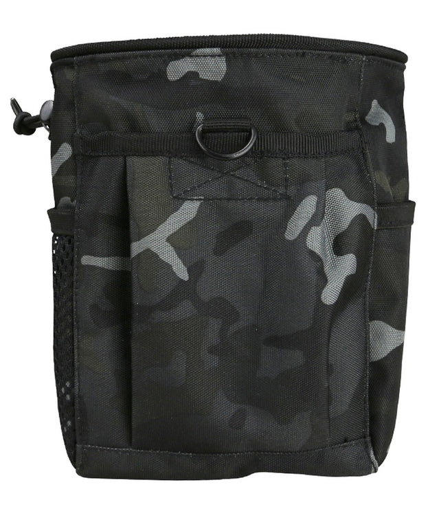 Dump pouch-Large BTP BLACK Airsoft Kombat Tactical - The Back Alley Army Store