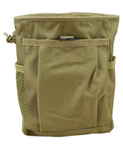 kombat tactical large dump pouch coyote brown desert tan