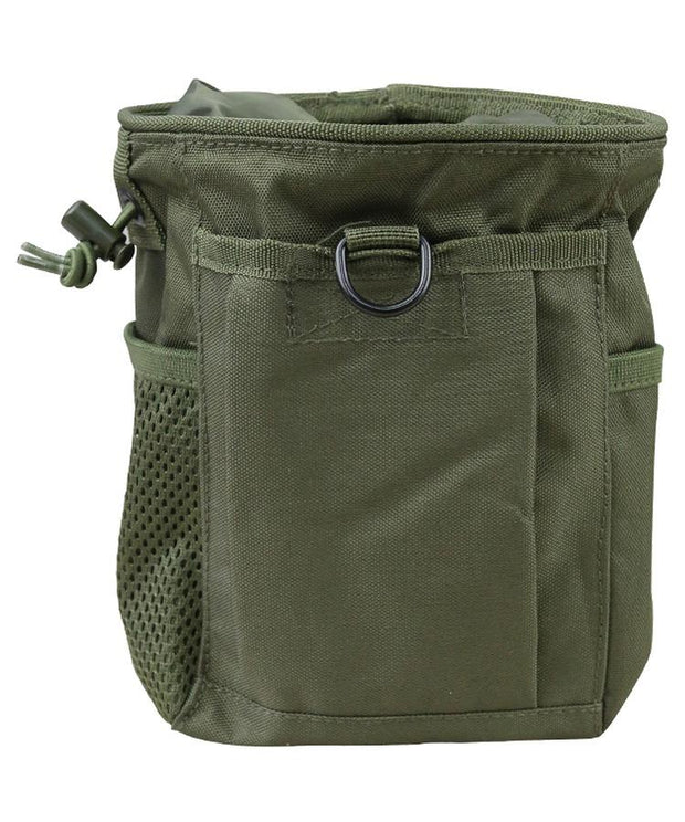 kombat tactical large dump pouch olive green od