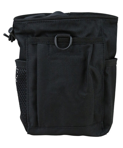 Dump pouch-Large-Black for shell disposal