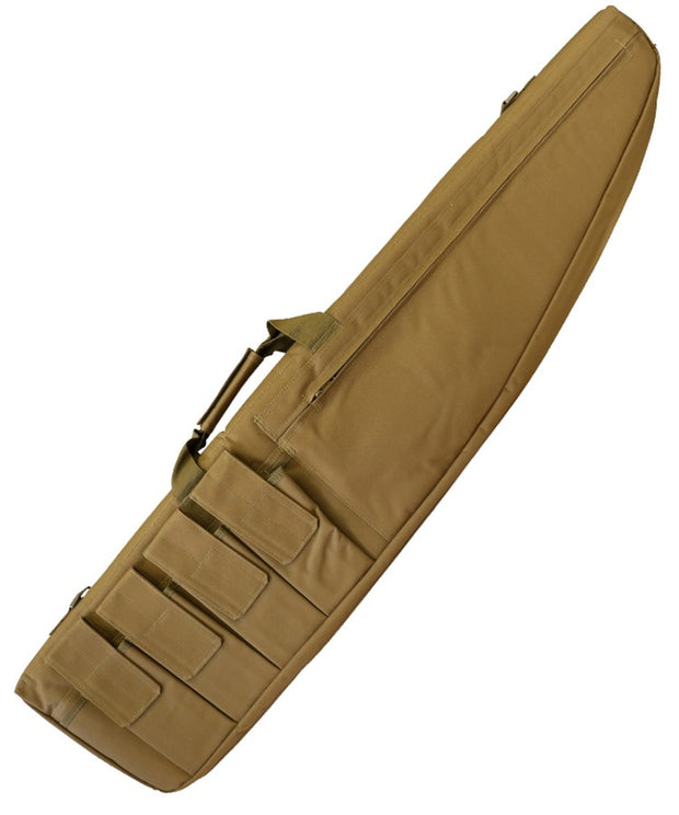 elite gun rifle case exterior mag pouches