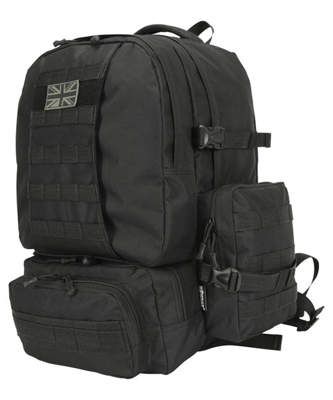 Expedition pack-50 litre BLACK Bag Kombat UK - The Back Alley Army Store