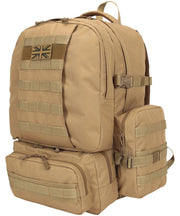 Expedition pack-50 litre COYOTE Bag Kombat UK - The Back Alley Army Store
