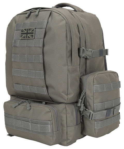 Expedition pack-50 litre GUNMETAL GREY Bag Kombat UK - The Back Alley Army Store