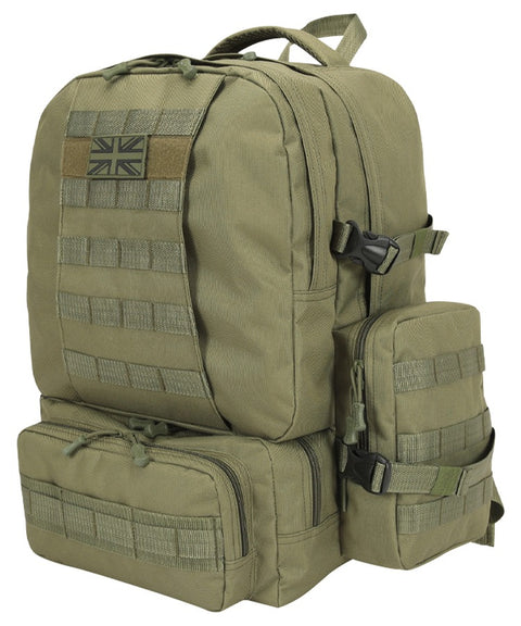 Expedition pack-50 litre OLIVE Bag Kombat UK - The Back Alley Army Store