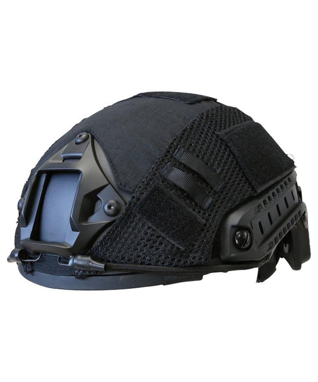 black fast helmet cover kombat tactical