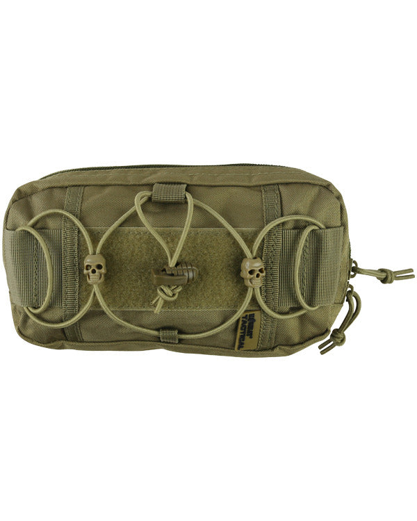 Fast pouch-coyote brown. velcro  patch and magazine pouch