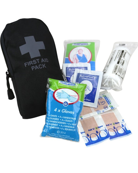 First aid kit-Black  Equipment Kombat UK - The Back Alley Army Store