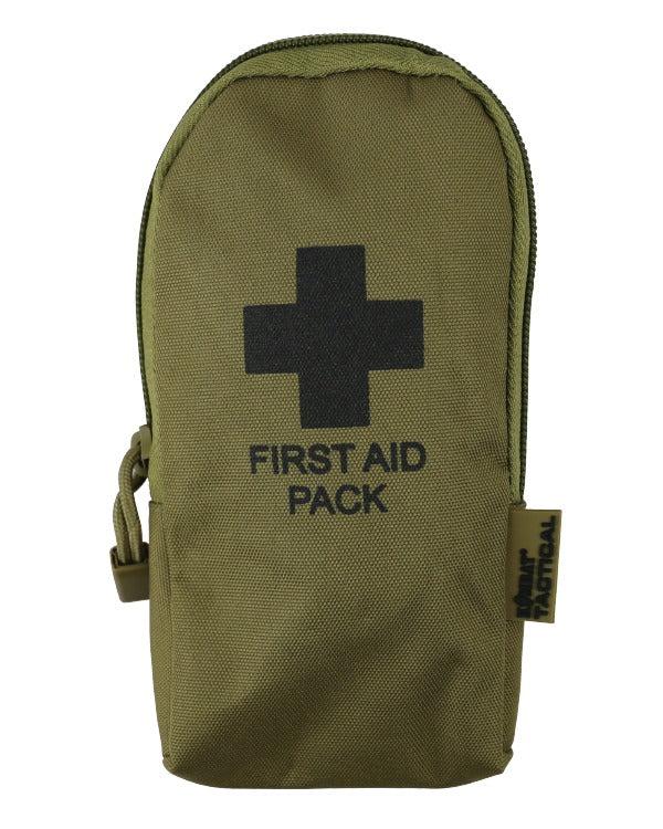 First aid kit-Coyote  Equipment Kombat UK - The Back Alley Army Store