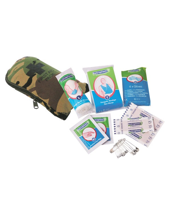 First aid kit-DPM  Equipment Kombat UK - The Back Alley Army Store