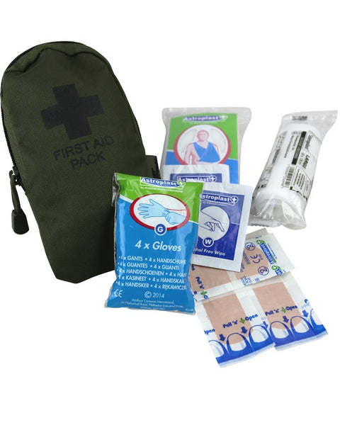 First aid kit-Olive  Equipment Kombat UK - The Back Alley Army Store