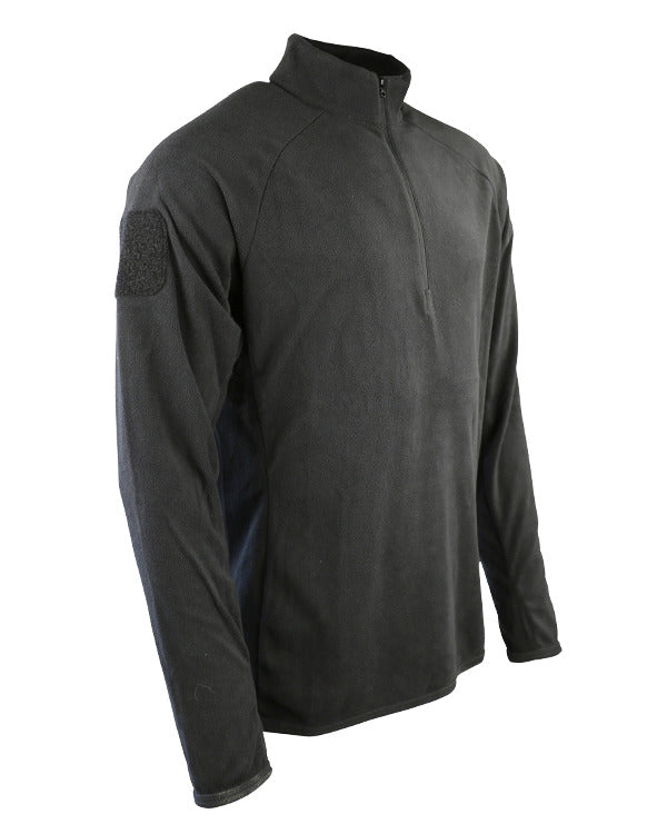 Alpha mid-layer fleece-Black