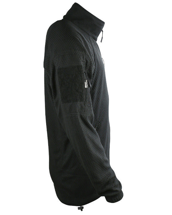 Delta tactical grid fleece-Black