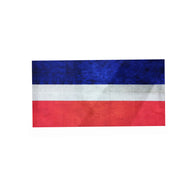 French flag snood-Vintage style