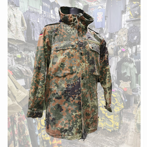 German Army Flektarn Parka  Clothing Sourced by Back Alley - The Back Alley Army Store